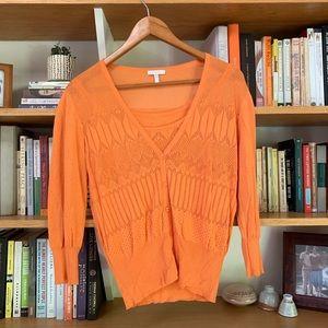 ESCADA | Orange Sweater Set | 42 Italian- US 9